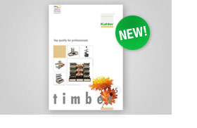 The new timber brochure