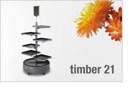 timber 21 Präsentationssäule