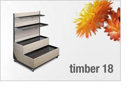 timber 18 Regaltreppe