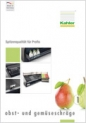 tilted fruit and vegetable display rack