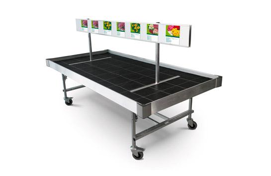 Aluminium-Werbetafel