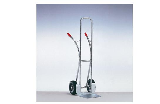Stahlrohr-Stapelkarre feuerverzinkt - Typ 161