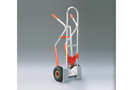 Aluminium-Stapelkarre mit Kisteneinhängung