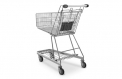 Self-service shopping trolley