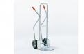 Stahlrohr-Stapelkarre feuerverzinkt - Typ 150