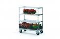 Modular tiered trolley