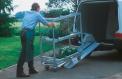 ABS-type aluminium loading rails