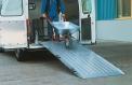 Aluminium transfer bridge for installation in the vehicle