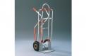 Aluminium-Stapelkarre für 2 Stapel