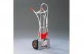 Aluminium stacking truck for hanging-in boxes