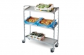 Sales stand, collapsible